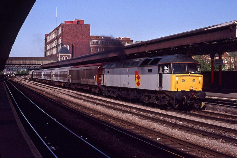 47323, down freight, Newport, 13-5-92.