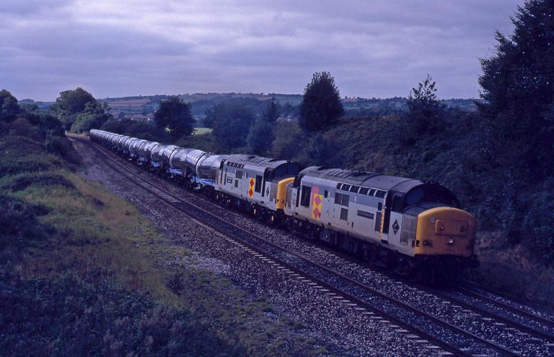 37675/37672, Burngullow-Irvine, Whiteball, 16-9-92.