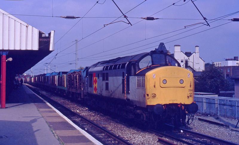 37298, up logs, Warrington, 29-9-92.