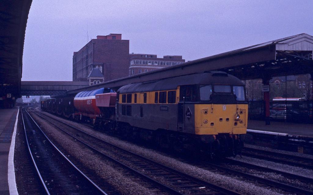 31102, down freight, Newport, 27-4-93.