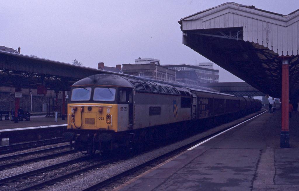 56053, down freightr, Newport, 27-4-93.