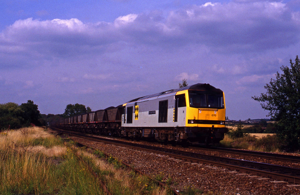 60070, southbound mgr, Tamworth High Level, 17-8-93.