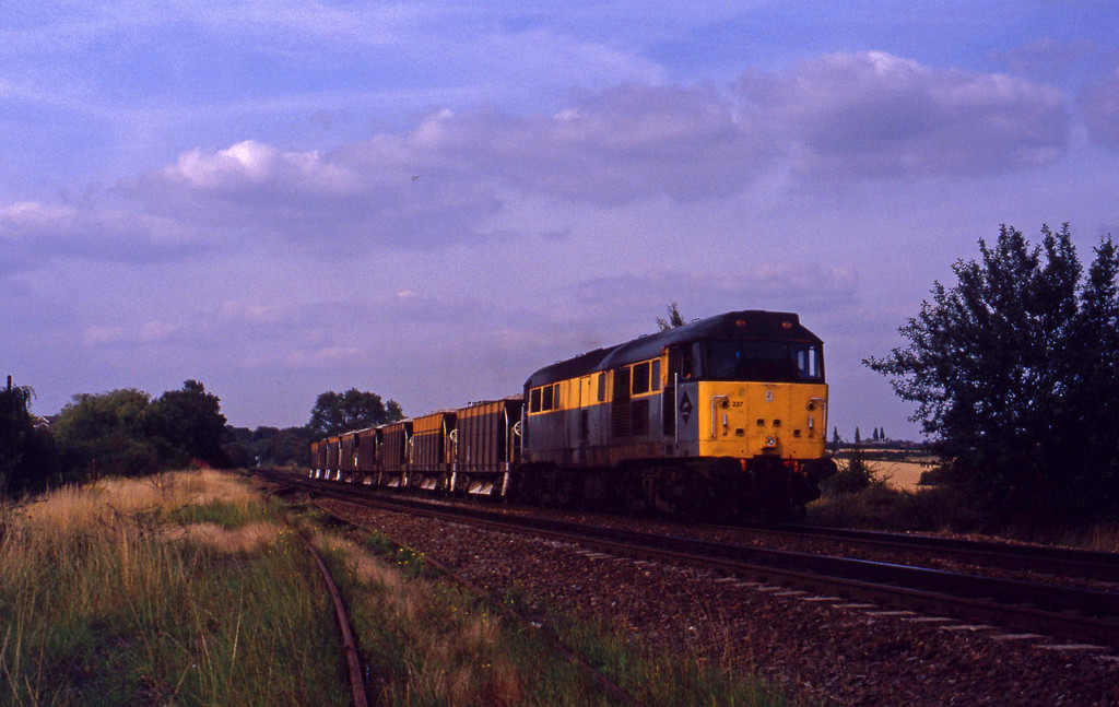 31237, southbound departmental, Tamworth High Level, 17-8-93.