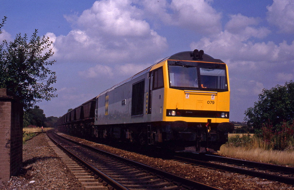 60079, southbound mgr, Tamworth High Level, 17-8-93.