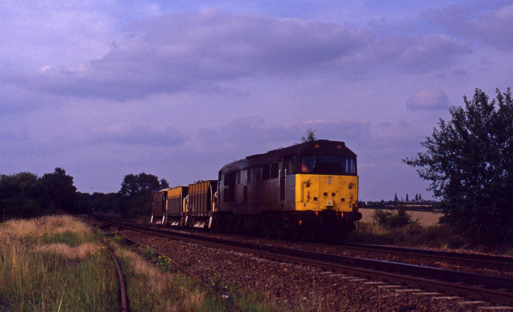 31462, southbound departmental, Tamworth High Level, 17-8-93.