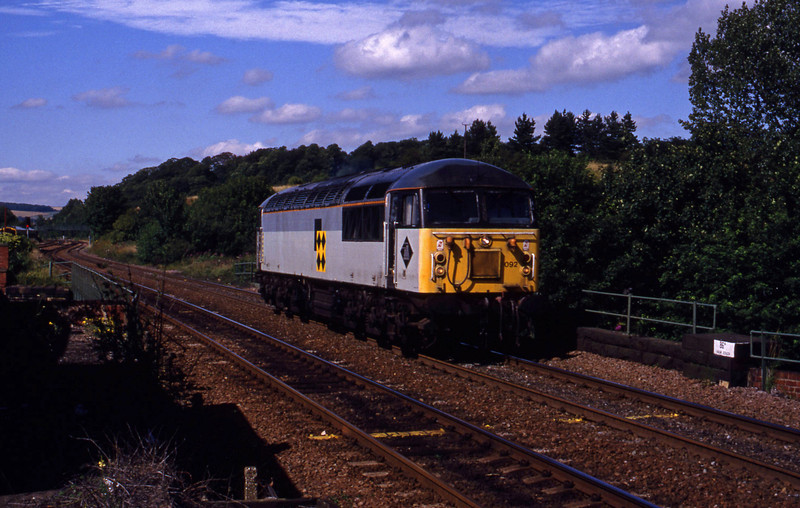 56092, up light, Chesterfield, 28-7-93.