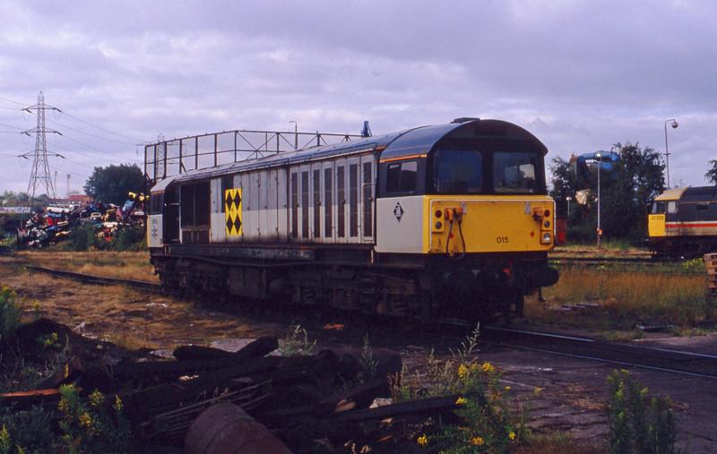 58015, stabled, Saltley, 28-7-93.