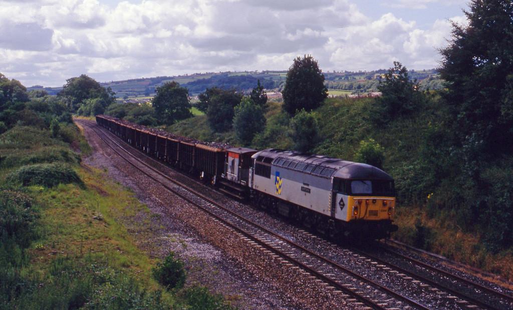 56044, Exeter Alphington Road-Cardiff Tidal, Whiteball, 10-7-93.