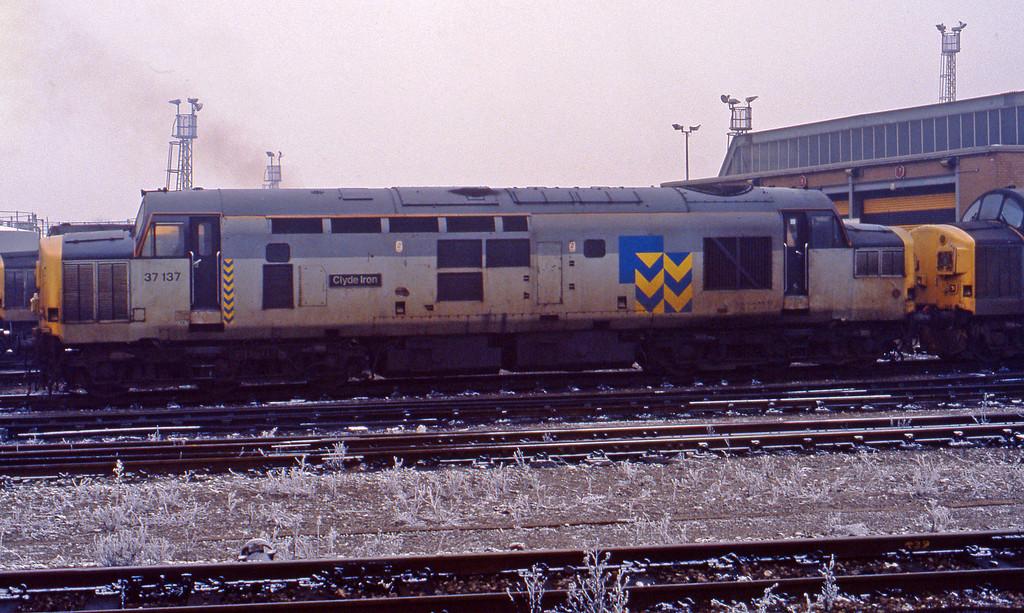37137, stabled, Bristol TMD, 23-11-93.