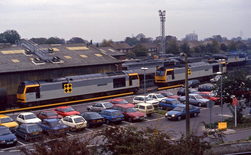 60067/60078, Knottingley, 27-10-93.