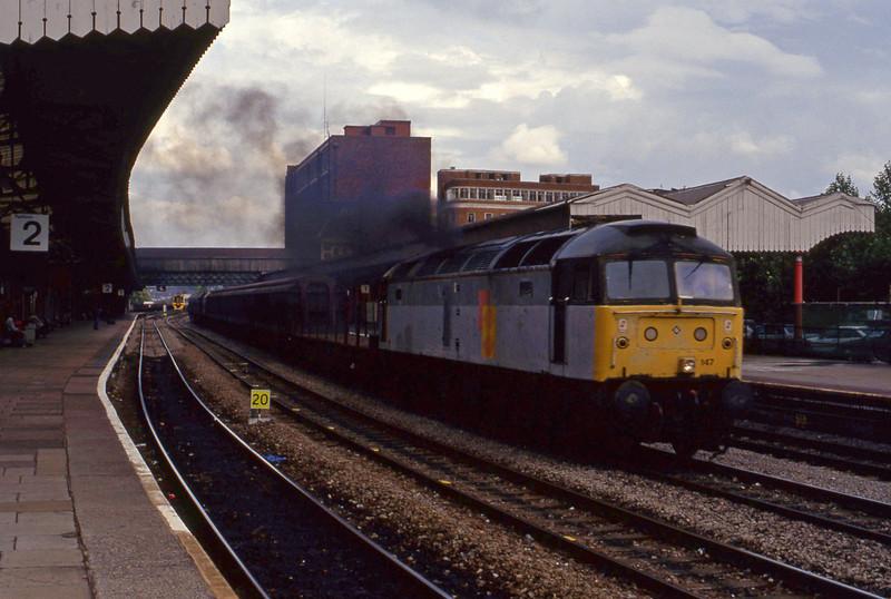 47147, down steel, Newport, 8-9-93.
