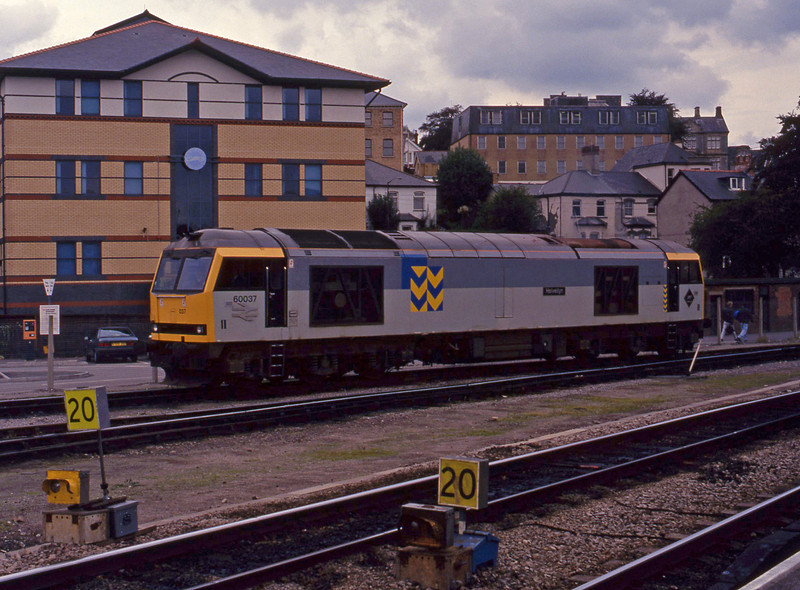 60037, to stabling point, Newport Godfrey Road, 29-9-93.