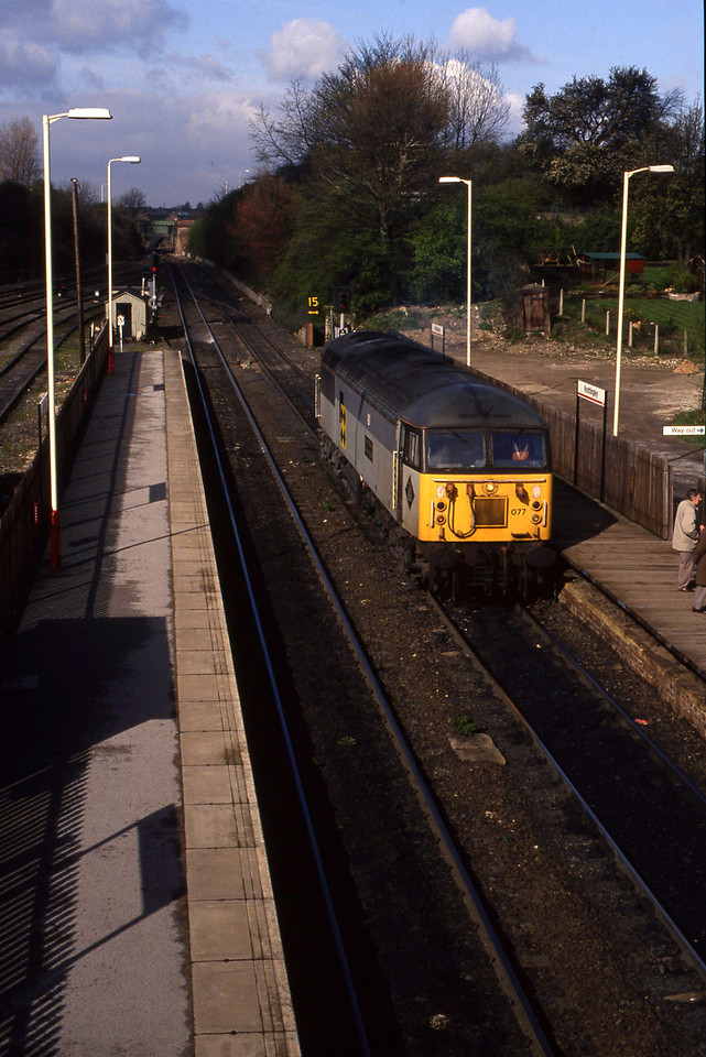 56077, eastbound, Knottingley, 6-4-94.