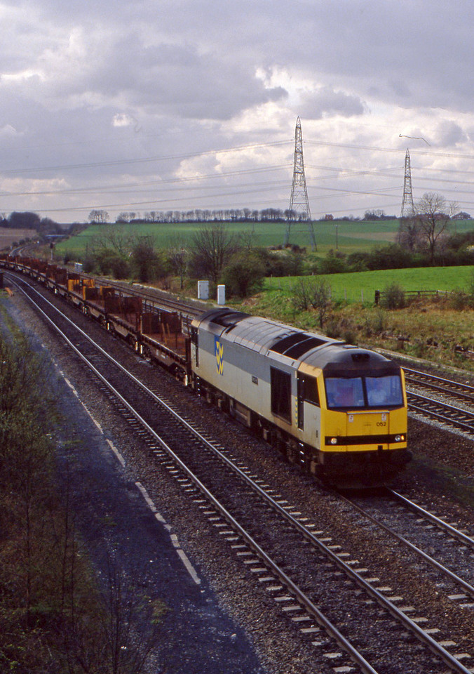 60052, down steel, Burton Salmon, 6-4-94.