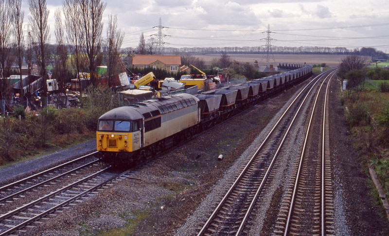 56078, down  mgr empties, Burton Salmon, 6-4-94.