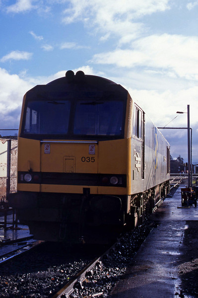 60035, stabled, Exeter TMD, 31-12-94.