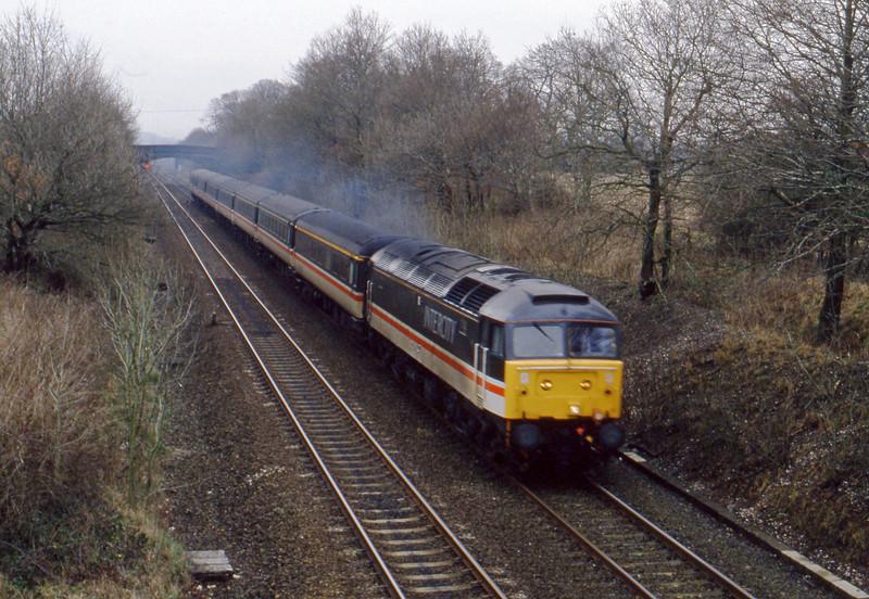 47, down passenger, Willand, near Tiverton, 26-2-94.