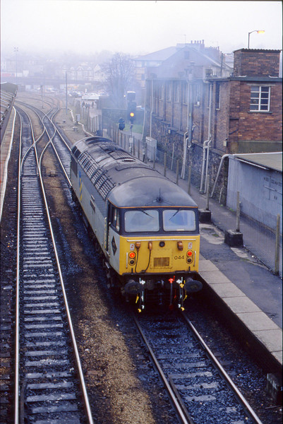 56044, down light from stabling point, Newport, 23-2-94.