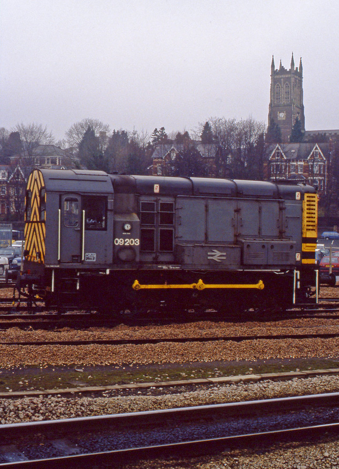 09203, stabled, Newport Godfrey Road, 23-2-94.