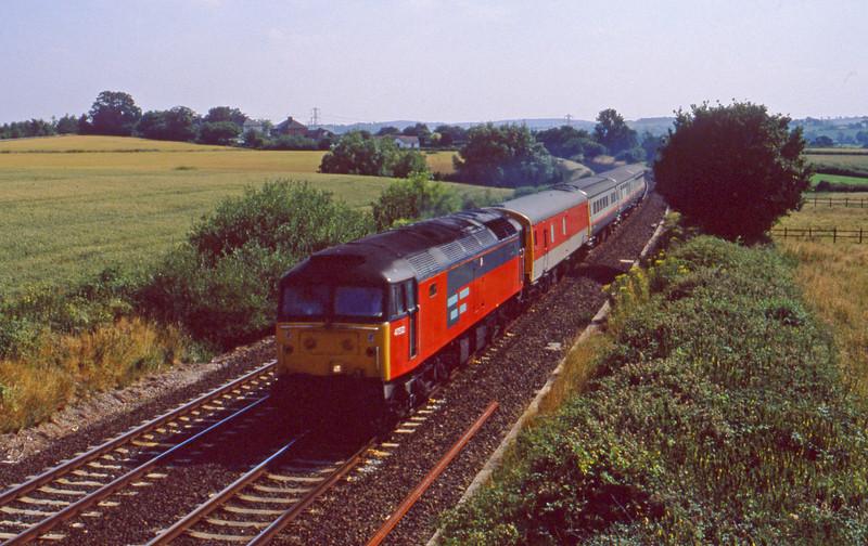 47532, up vans, Willand, near Tiverton, 19-7-94.