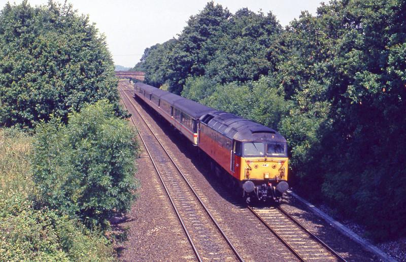 47773, down passenger, Willand, near Tiverton, 16-7-94.