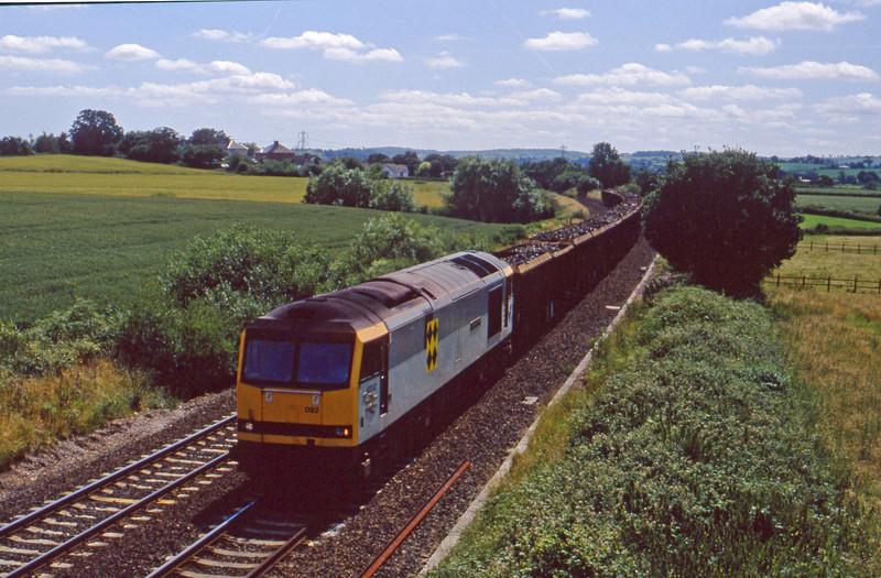 60092, Exeter Alphington Road-Cardiff Tidal, Willand, near Tiverton, 9-7-92.