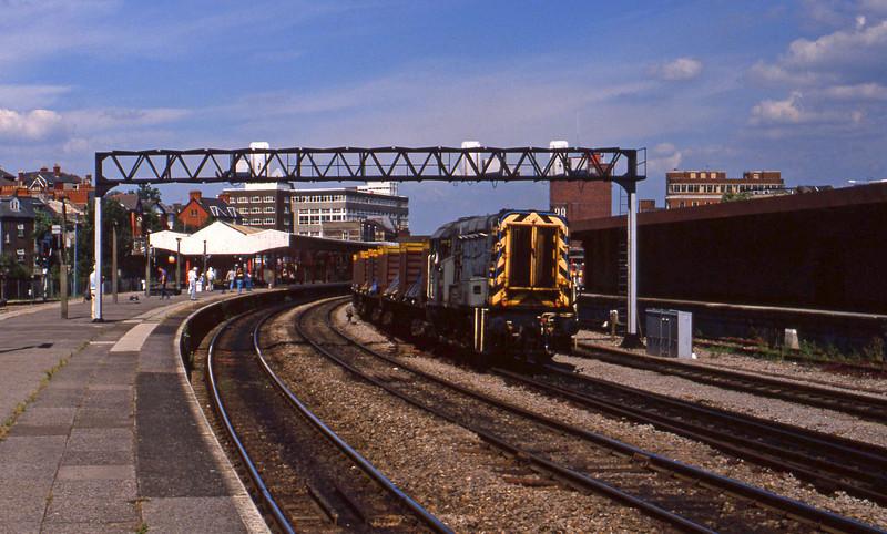 09015, down steel trip, Newport, 14-7-94.