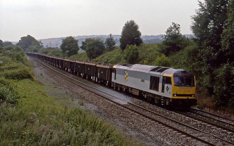 60029, Exeter Alphington Road-Cardiff Tidal scrap, Whiteball, 6-8-94.