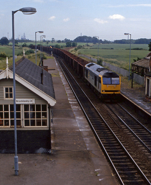 60026, westbound ore, Brocklesby, 23-6-94.