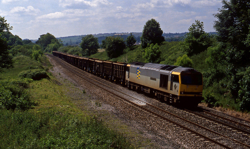 60033, Exeter Alphington Road-Cardiff Tidal, Whiteball, 11-6-94.