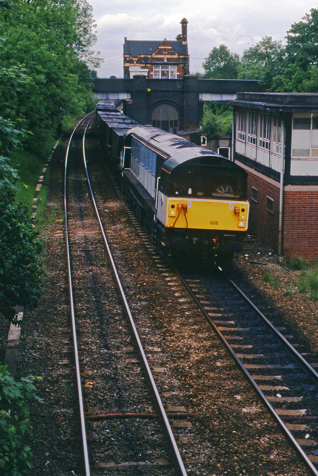 58026, eastbound mgr empties,  Water Orton, 2-6-94.
