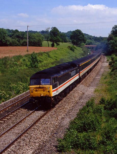 47844, down passenger, Whiteball, 11-6-94.