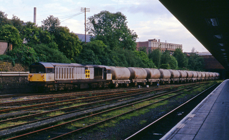 58017, down cement tanks to yard, Leicester, 2-6-94.