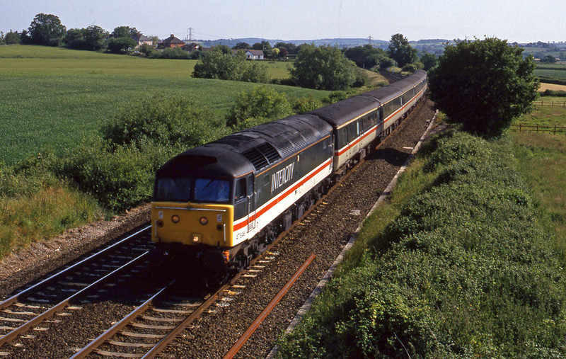 47846, up passenger, Willand, near Tiverton, 17-6-94.