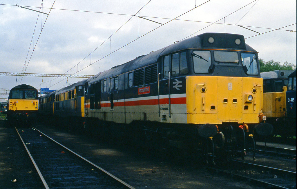 31408, stabled, Bescot, 2-6-94.