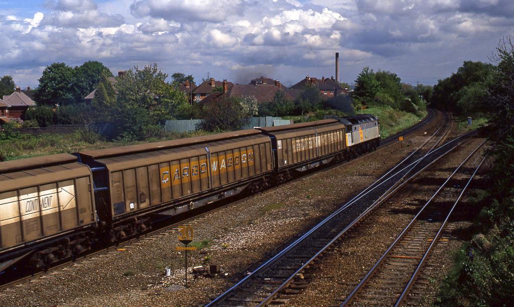 47377, down Cargowaggons, Water Orton, 4-5-94.