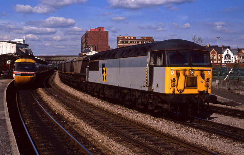 56119, down mgr empties, Newport, 12-5-94.