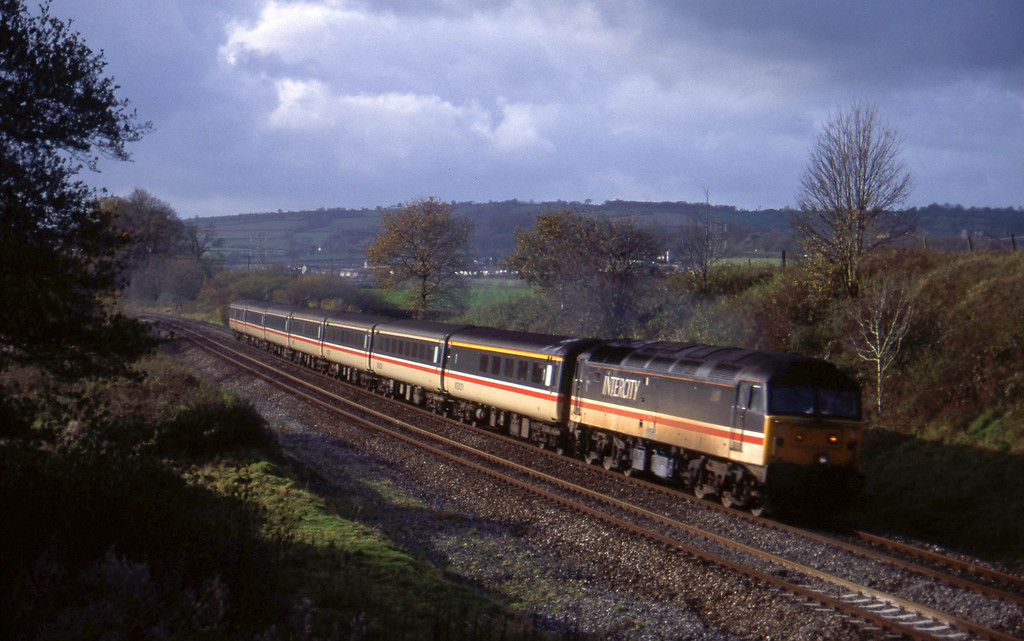 47840, 11.44 Plymouth-Liverpool Lime Street, Whiteball, 15-11-94.