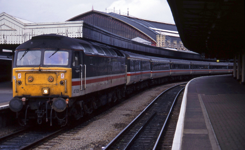 47826, 09.10 Liverpool Lime Street-Plymouth, Bristol Temple Meads, 16-11-94.