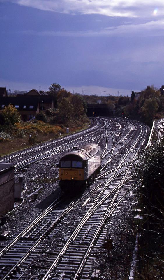 47222, up light, Gaer Junction, Newport, 26-10-94.