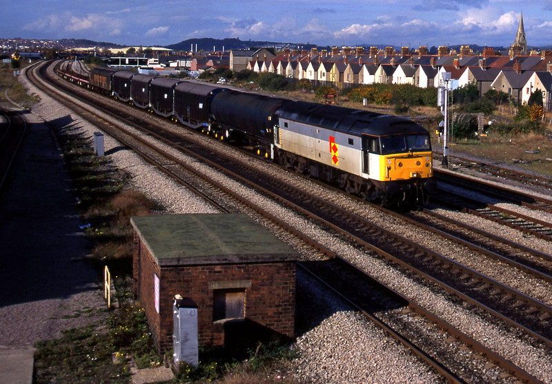 47222, up freight, Cardiff Canton, 26-10-94.
