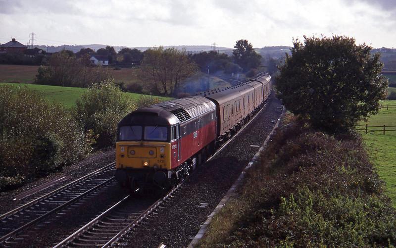 47572, up vans, Willand, near Tiverton, 19-10-94.