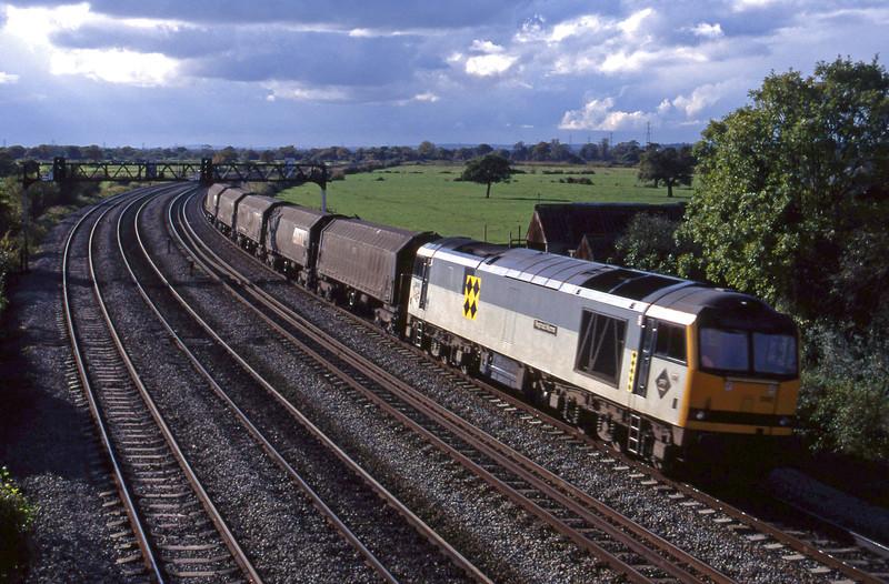 60092, up steel, Duffryn, near Newport, 26-10-94.