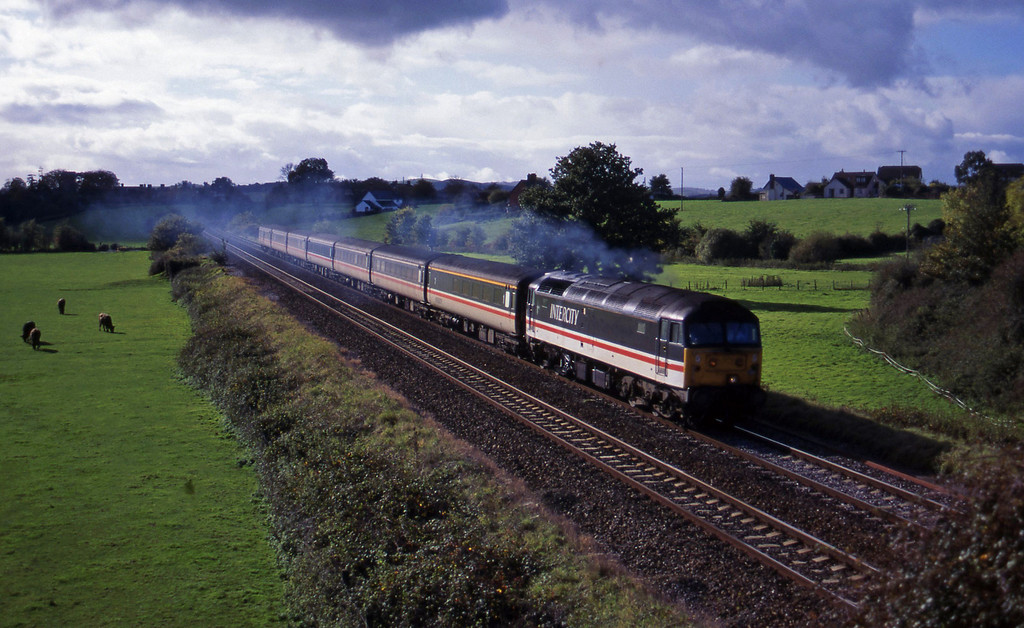 47/8. 11.44 Plymouth-Liverpool Lime Street, Rewe, near Exeter, 24-10-94.