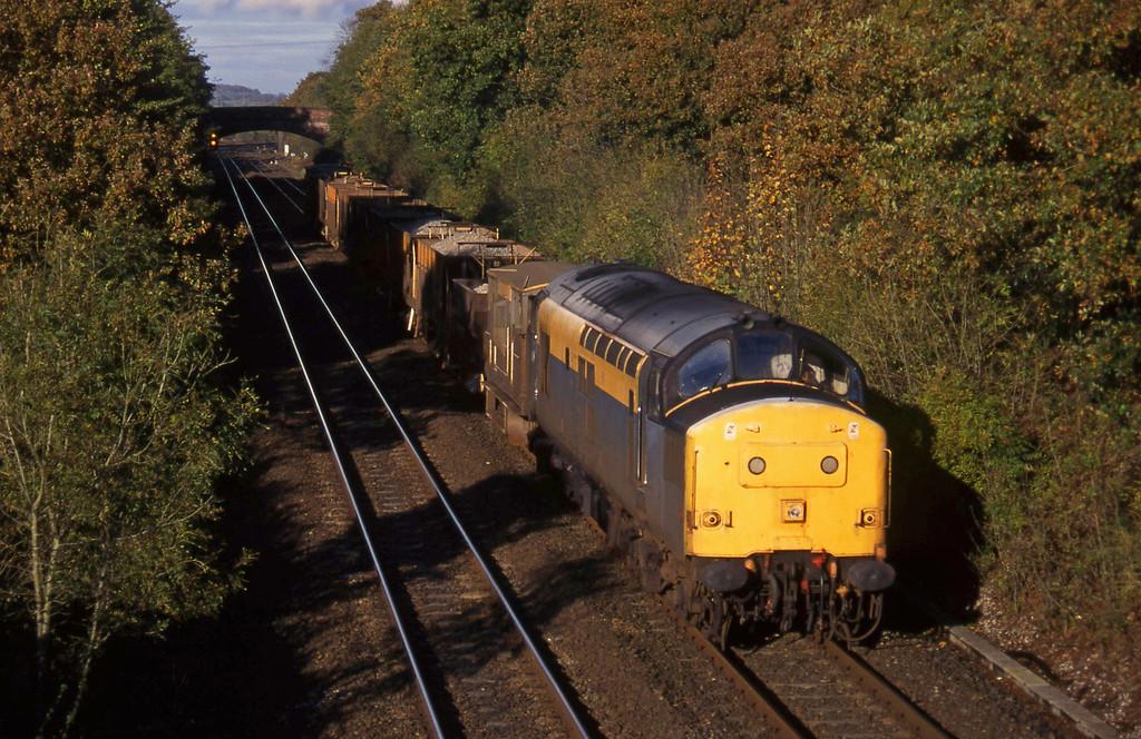 37140, down ballast, Willand, near Tiverton, 27-10-94.