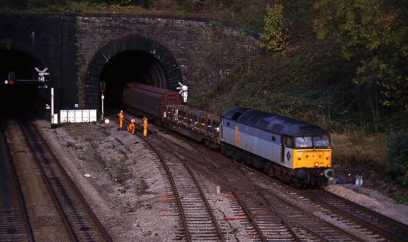 47225, down steel, Gaer Junction, Newport, 26-10-94.