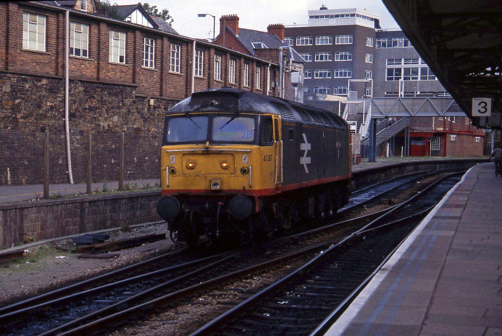47367, up light to Newport Godfrey Road Stabling Point, 6-10-94.