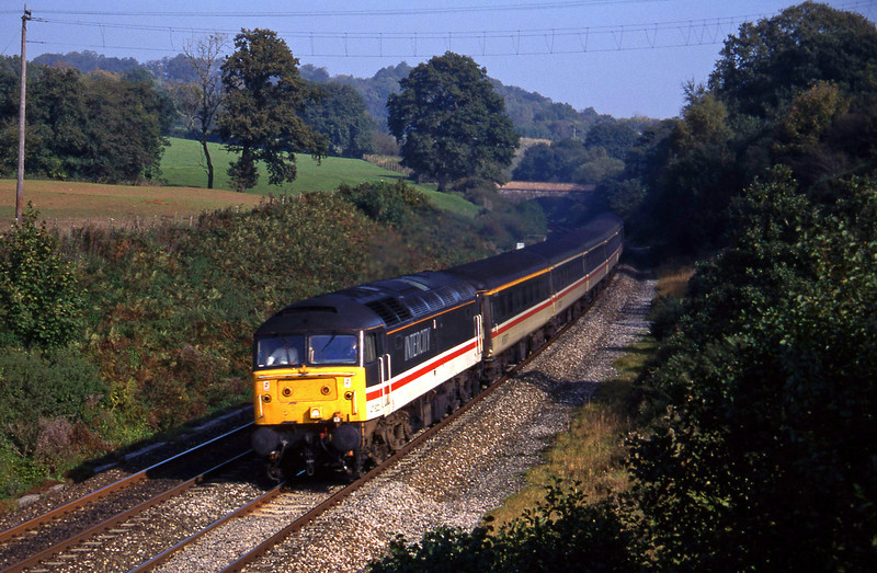 47822, 09.10 Liverpool-Plymouth, Whiteball, 12-10-94.
