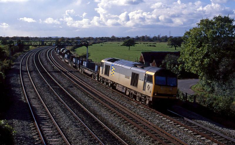 60062, up steel, Duffryn, near Newport, 26-10-94.