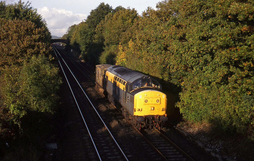 37158, down brakevan, Willand, near Tiverton, 19-10-94.